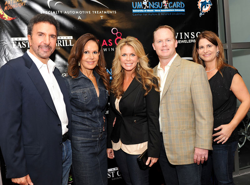 Moonlight-11-28-11-P1---Specialty-Automotive-Treatments-Owner-Rafael-and-Susan-Jorge-with-Rachel-and-Jeff-Ireland