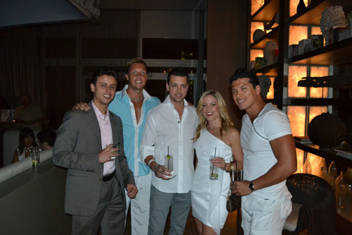 Styling At The White Party