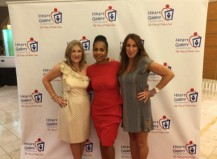 Event organizers Melissa Milroy Yvette DuBose and Melissa Rocker for the 2016 Eat Your Heart Out culinary feast