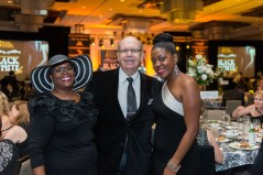 Ruth Lynch, Frank Mandley, Robyn Hankerson. Photo credit: Downtown Photo