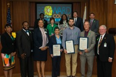 Broward County Commission Presented Proclamation Declaring May 2017 Children's Mental Health Awareness Month in Broward County