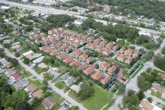 Sales Center for Brick O. Real Estate's The Reserve at Edgewood,  a Family-Friendly Residential Townhome Community in Fort Lauderdale, Celebrated its Grand Opening