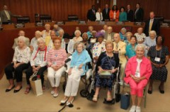 Broward Countys Centennial Citizens are honored by Broward Commission