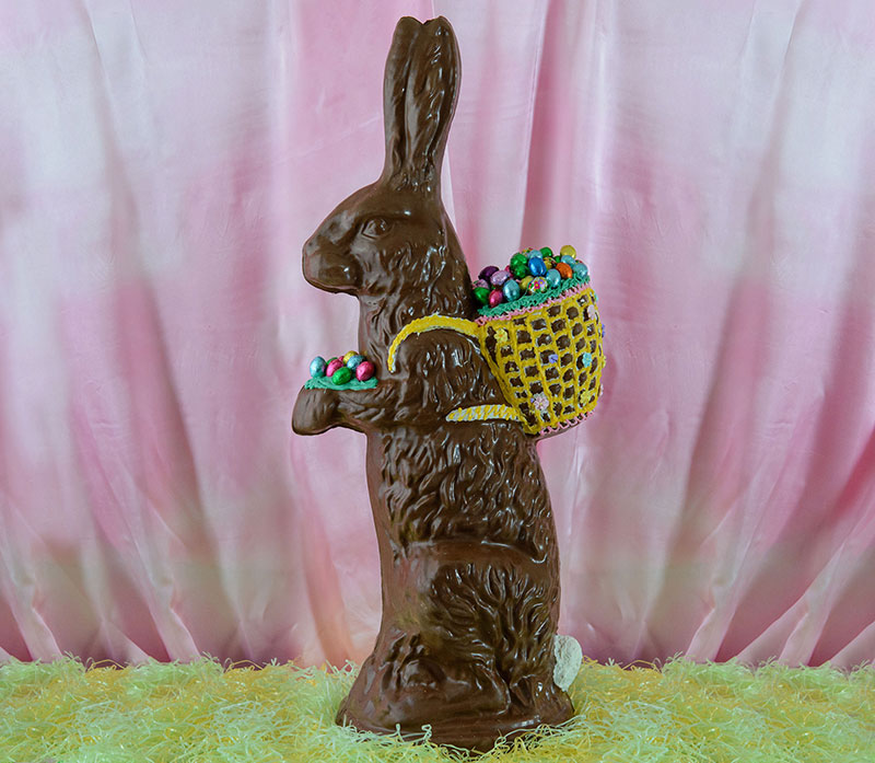 Chocolate Easter Bunny Hoffmans Chocolates