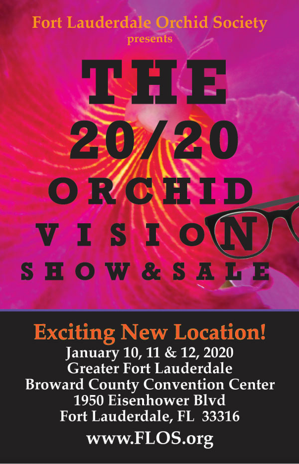 2020 Orchid Vision Annual Orchid Show