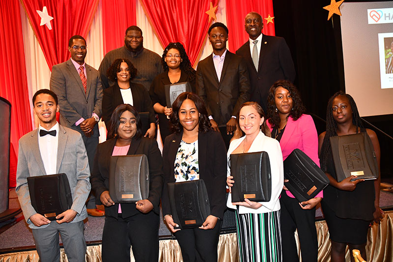 2019 Graduating Scholars at HANDY's 14th Annual Scholars Breakfast