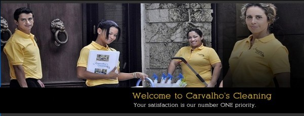 Welcome to Carvalho's Cleaning! Your satisfaction is our number ONE priority.