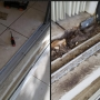 sliding door track restoration