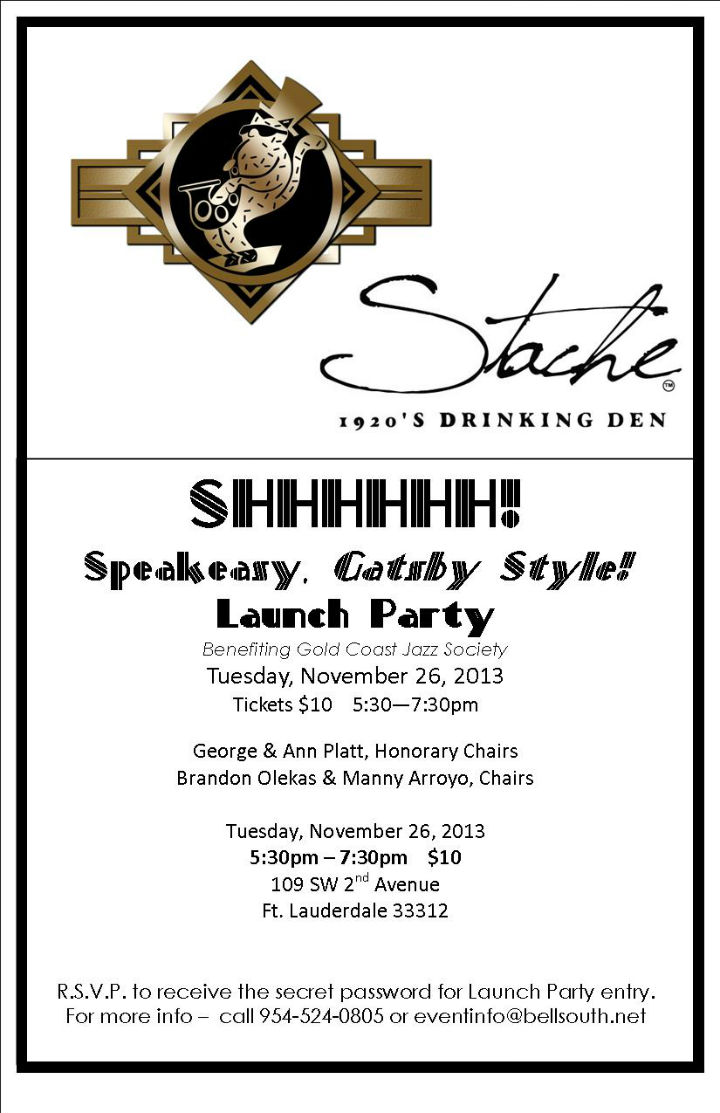 Launch Party for Speakeasy