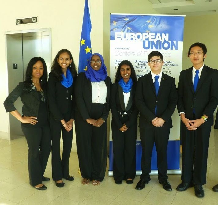 Nova High Gloss White Vanity Bathroom Suite: Nova High School Euro Challenge Team Takes First Place
