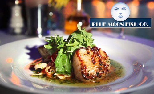 Blue moon fish company celebrates national seafood month for Blue moon fish company brunch