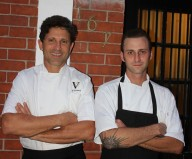Chef Giovanni Rocchio, Executive Chef and Owner of Valentino Cucina Italiana, and Chef de Cuisine Jimmy Everett