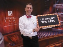 Broward Center Volunteer Usher Kurt Liphardt