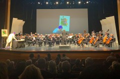 Colors Of Art And Music Intermingle At Symphony Of The Americas