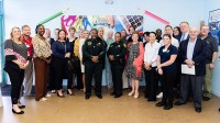 Business leaders, donors and Broward Education Foundation board members gathered at the School Supply Center in Pompano Beach to kick start the 2019 Back to School Supply Drive.